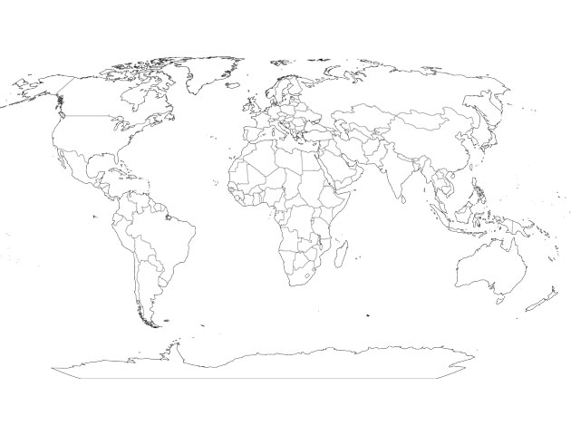 map of the world continents. map of world continents.