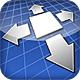 Infinite Canvas App Icon for Alacrity Software