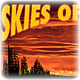Skies of glass logo and web treatment, for Fear the Boot